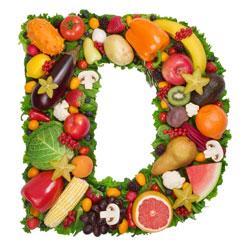 D-vitamin holdig mat